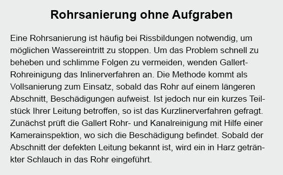 Rohrsanierung in  Althengstett